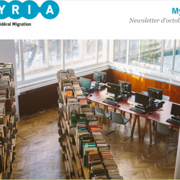 [Newsletter] Myriade d'octobre 2020