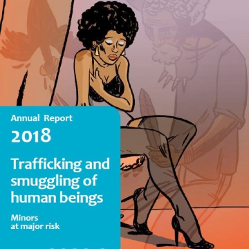 2018 Annual report trafficking and smuggling of human beings